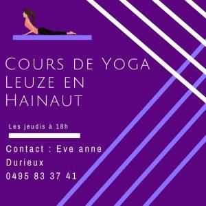 yoga Leuze-en-Hainaut