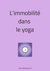 immobilité dans le yoga