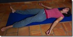 savasana relaxation immobilité