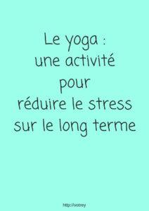 Eliminer le stress