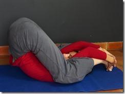 yoganidrasana : préparation