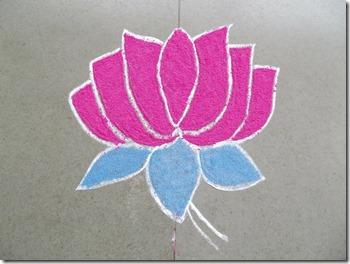 padmasana, le lotus