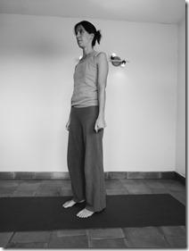 yoga cardio : position de départ