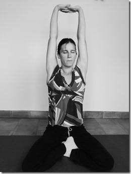 yoga pour bien dormir : parvatasana