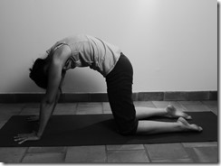 yoga pour soulager le dos : marjariasana pranayama