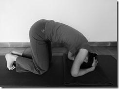 posture sur la tête position de la tête