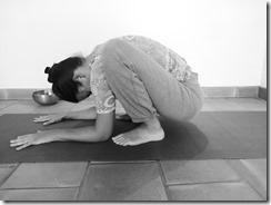 posture de yoga contre l'anxiété