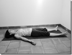 Savasana relaxation