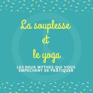 yoga souplesse