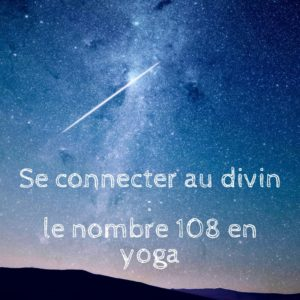 Le nombre 108 en yoga