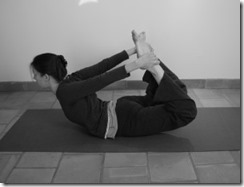 flexion arrière : posture de l'arc