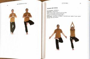 photo d'un livre de yoga pour pratiquer chez soi