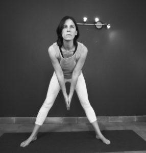 posture du triangle : départ 2